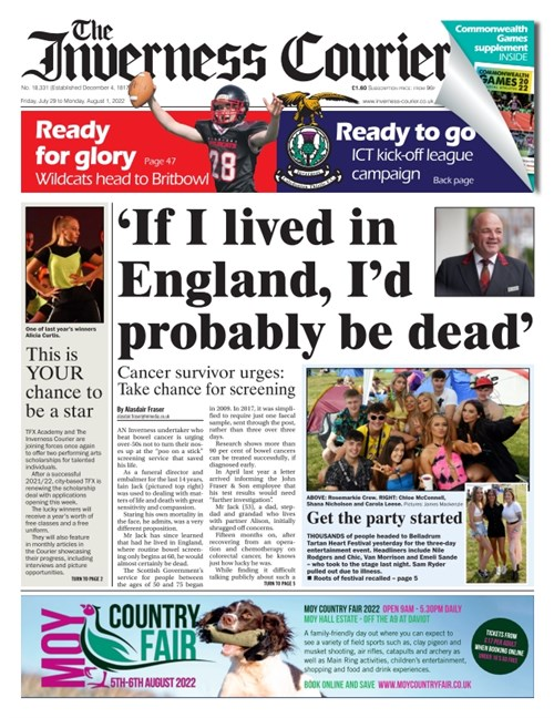 Inverness Courier Friday