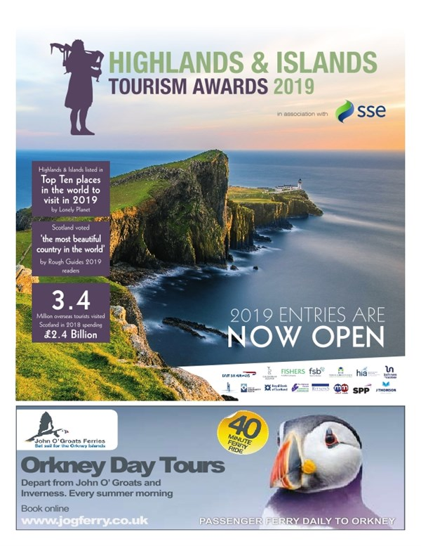 Highlands and Island Tourism Awards 2019