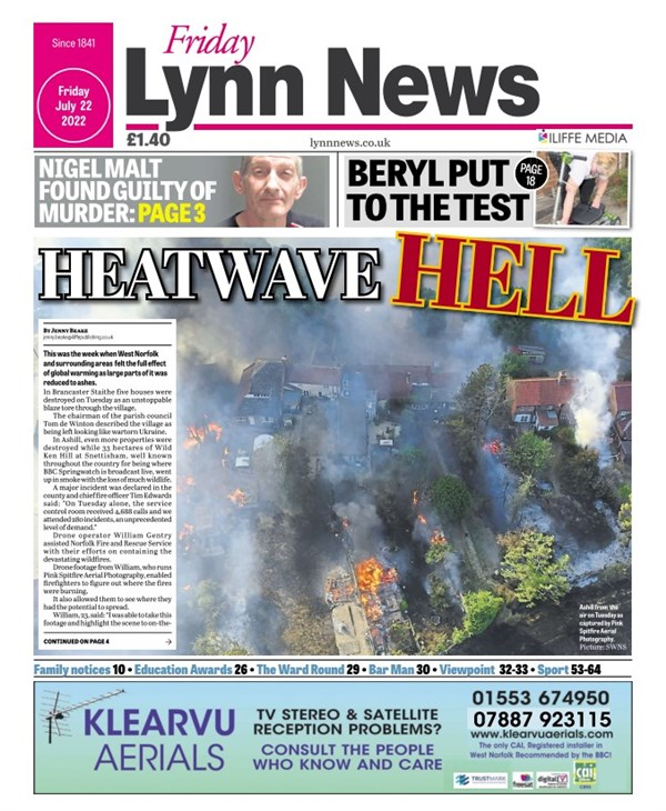 Lynn News Tuesday
