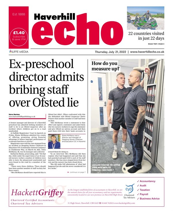 Haverhill Echo e-edition