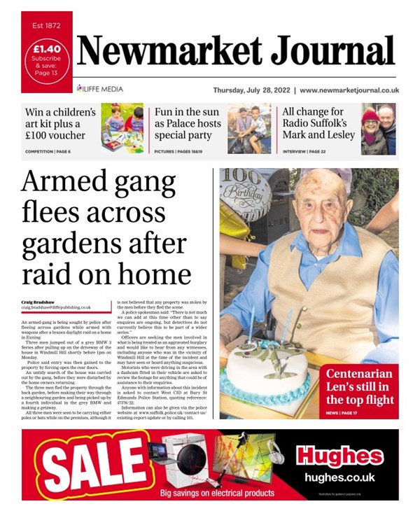 Newmarket Journal e-edition