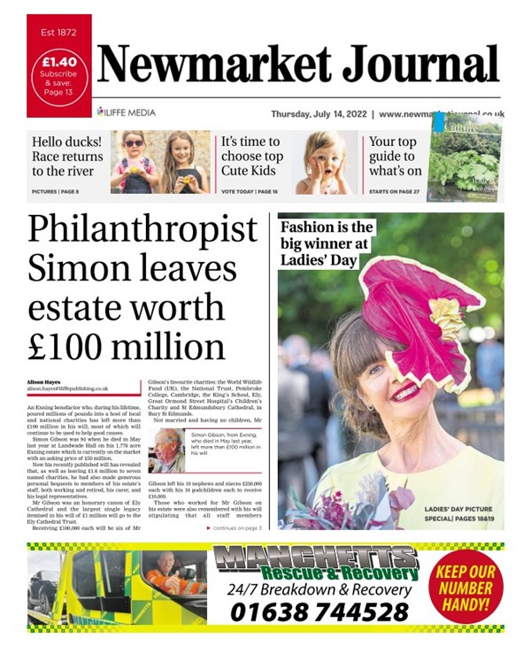 Newmarket Journal e-edition