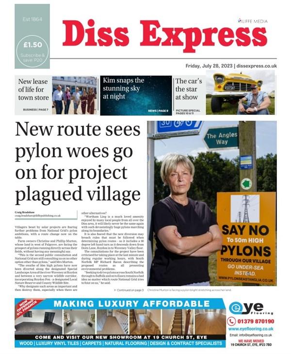 Diss Express e-edition