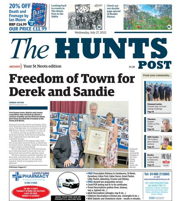 The Hunts Post - St Neots Edition