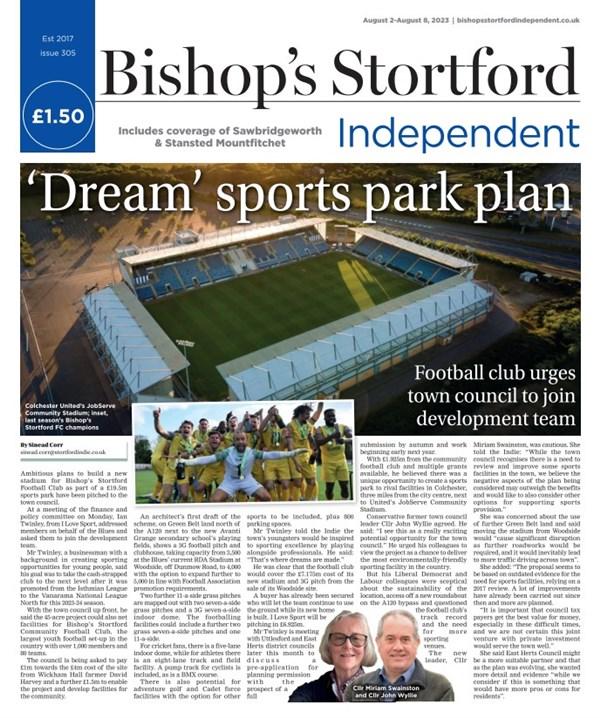 Bishops Stortford e-edition