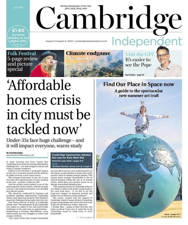Cambridge Independent e-edition