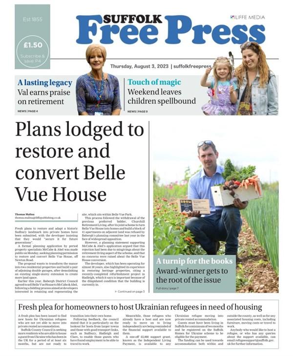 Suffolk Free Press e-edition