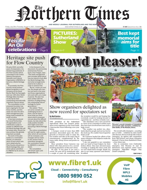 Northern Times e-edition