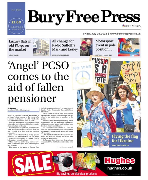 Bury Free Press e-edition