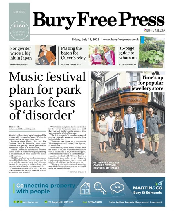Bury Free Press e-edition