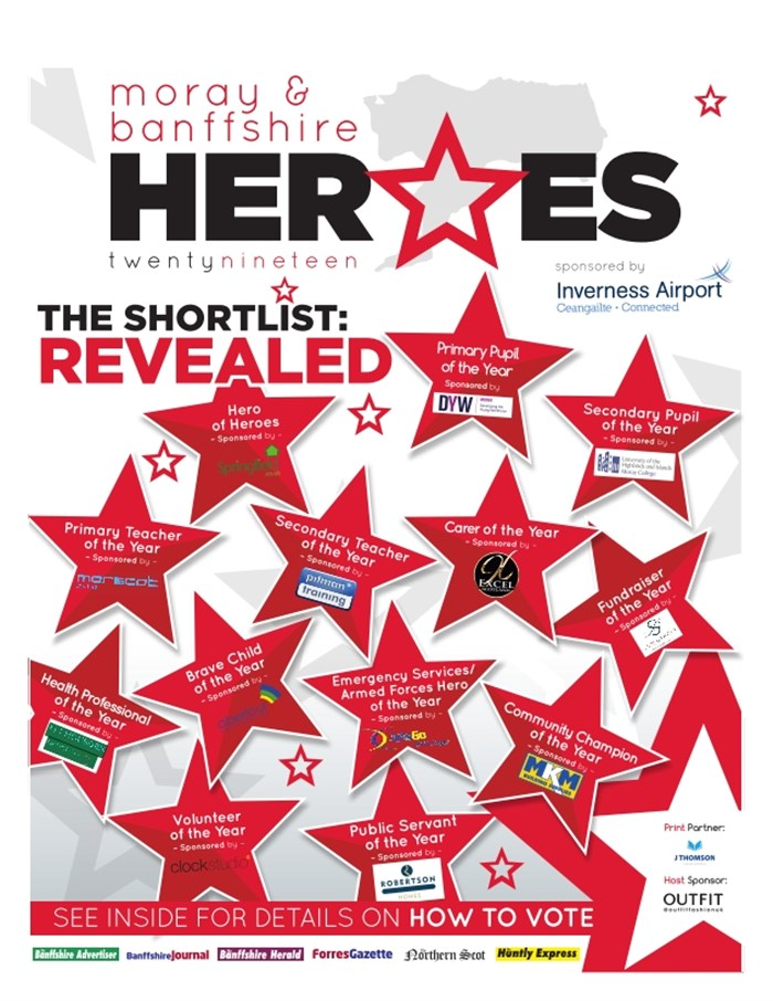Moray & Banffshire Heroes 2019